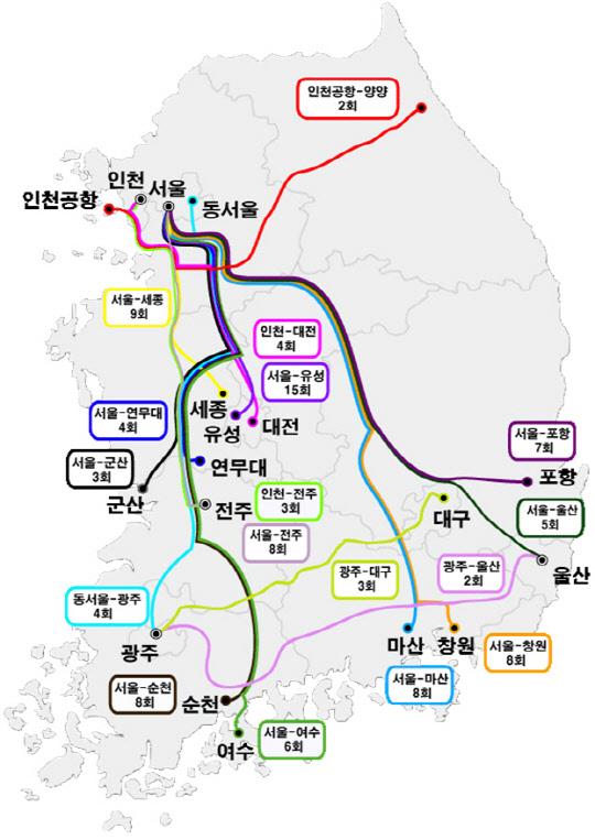 국토부-고속버스업계, 서울∼세종 등 전국 12개 노선에 프리미엄 고속버스 신규 투입